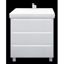 Тумба 1MarKa Кода 60Н Белый глянец