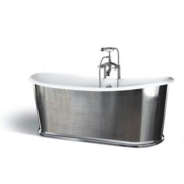 Чугунная ванна Sharking SW-1010B 183x78 (с глянцевой декоративной панелью) 208559