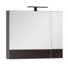 Зеркало-шкаф Aquanet Нота 75 венге 159109