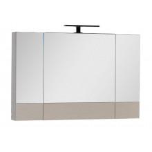 Зеркало-шкаф Aquanet Нота 100 светлый дуб 158859