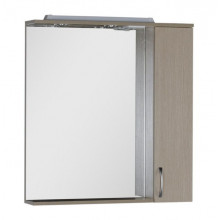 Зеркало-шкаф Aquanet Донна 80 светлый дуб 168930