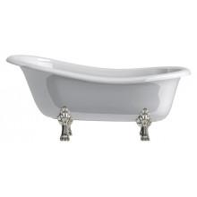 Ванна из литьевого мрамора Астра-Форм Роксбург 170x80 ножки хром