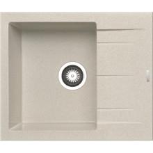 Кухонная мойка Pyramis Alazia арт. 79809211, 59x50 см, бежевый