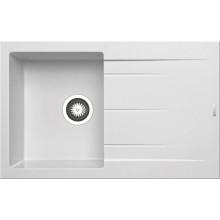Кухонная мойка Pyramis Alazia арт. 79810511, 79x50 см, белый опал