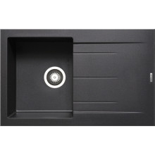 Кухонная мойка Pyramis Alazia арт. 79810611, 79x50 см, черный