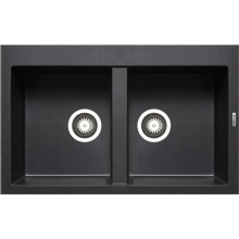 Кухонная мойка Pyramis Alazia арт. 79811011, 79x50 см, антрацит