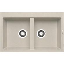 Кухонная мойка Pyramis Alazia арт. 79811111, 79x50 см, бежевый