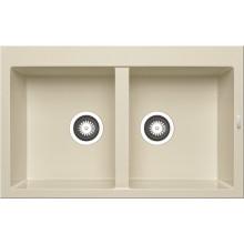 Кухонная мойка Pyramis Alazia арт. 79811211, 79x50 см, мокко