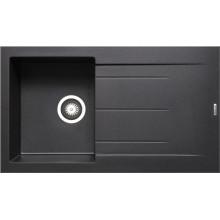 Кухонная мойка Pyramis Alazia арт. 79811411, 86x50 см, черный