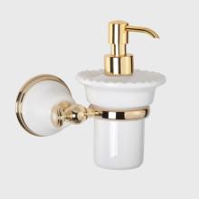 Дозатор жидкого мыла Tiffany World Harmony TWHA108bi/oro, белый/золото