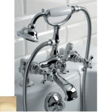 Смеситель Devon&Devon Austin UTAU933P для ванны/душа на борт ванны, светлое золото