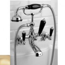 Смеситель Devon&Devon Black Dandy MARF40MOTBD для ванны/душа, светлое золото