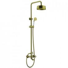 Душевая система Edelform Verde VR2910B для ванны/душа cо стойкой, бронза