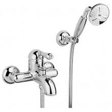 Cмеситель для ванны Nicolazzi El Capitan арт. 3401CR75  с душем, ручка металл, хром