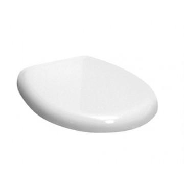 Сиденье Kerasan Aquatech 378901 bi/cr шарниры хром, стандарт