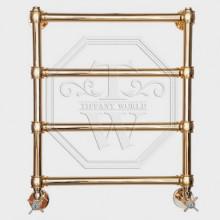 Полотенцесушитель водяной Tiffany арт. TW 600GVS для систем ГВС, 50хh60 см, золото
