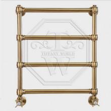 Полотенцесушитель водяной Tiffany арт. TW600GVSbr для систем ГВС, 50хh60 см, бронза