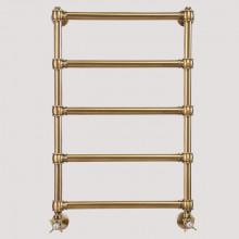 Полотенцесушитель водяной Tiffany арт. TW800GVSbr для систем ГВС, 50хh80 см, бронза
