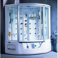 Душевая кабина Appollo A-0818 220x158 с аэромассажем и хромотерапией