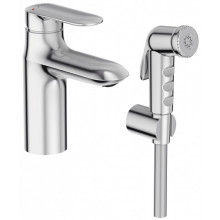 Смеситель Jacob Delafon Kumin E99465-CP для раковины с гигиеническим душем