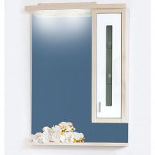 Зеркало Бриклаер Бали 62 R, светлая лиственница