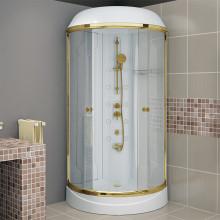 Душевая кабина Радомир Паола-1 Gold 93х93 см
