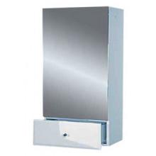 Шкаф Misty Лора 60 подвесной с ящиком, белая эмаль