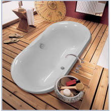 Ванна из литьевого мрамора Astra-Form Монако 174x80 см, литьевой мрамор