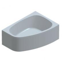 Акриловая ванна Kolpa-San Chad 170x120 L, гидромассажной системой Kolpa-san, комплектация STANDART, левая