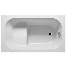 Ванна сидячая акриловая Riho Petit 120 арт. BZ2500500000000, 120x70 см, слив-перелив в подарок!