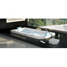 Ванна гидромассажная Jacuzzi Aquasoul Double HYDRO BASE, арт. 9443-475A Sx/9F23-5025 ( левая ), подиумная, 190x90xh57 см