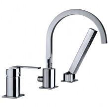 Бортовой смеситель Teka Cuadro 3815202 для ванны