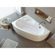 Акриловая ванна ALPEN Terra арт. AVA0041, 150x100 см, левая