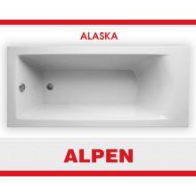Акриловая ванна ALPEN Alaska арт. AVB0001, 150x70 см