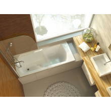 Акриловая ванна ALPEN Diana арт. AVP0041, 140x70 см