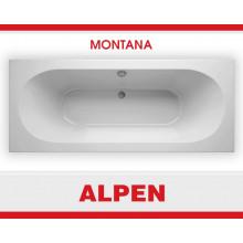Акриловая ванна ALPEN Montana арт. AVB0010, 170x75 см