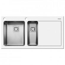 Кухонная мойка Pyramis Crystalon арт. 109504930, 100x52 см, левая