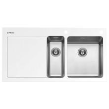 Кухонная мойка Pyramis Crystalon арт. 109504830, 100x52 см, правая