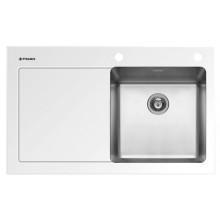 Кухонная мойка Pyramis Crystalon арт. 109500730, 86x53 см, правая