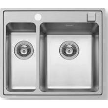 Кухонная мойка Pyramis Pella арт. 108910401, 60,5x52 см, правая