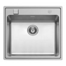Кухонная мойка Pyramis Pella арт. 108910301, 57x52 см, белый