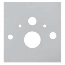 Нижняя стеклянная панель TECElux, арт. 9650101 для установки унитаза-биде