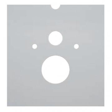 Нижняя стеклянная панель TECElux, арт. 9650102 для унитаза с крышкой-биде