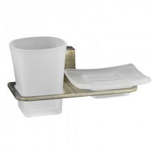 Держатель стакана и мыльницы WasserKRAFT Exter К-5226