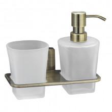 Держатель стакана и дозатора WasserKRAFT Exter К-5289