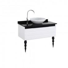 Нижний модуль с раковиной Creavit Allegro AG0100 белый