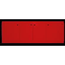 Экран для ванны Misty 180 красная пленка