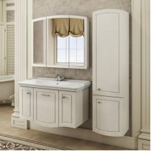 Шкаф-колонна Comforty Палини-42 белый глянец