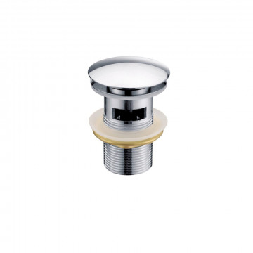 Донный клапан автомат Raiber RLB-884, хром
