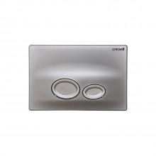 Кнопка для инсталляции Creavit DROP GP2002.00 матовая серая